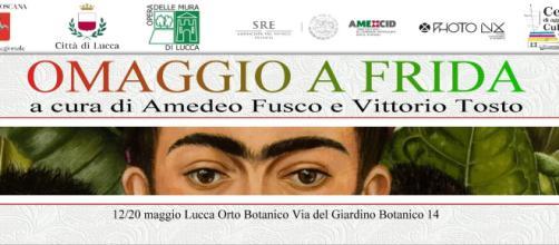 Lucca ospita Omaggio a Frida a cura di Amedeo Fusco e Vittorio Tosto