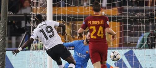 Mané marcó el primer gol para desestabilizar a la Roma. BBC.com.
