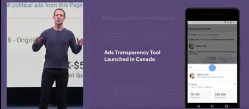 Mark Zuckerberg Delivers Keynote Address (Image Credit - YouTube/TIME)