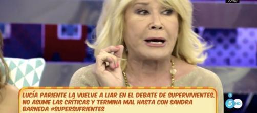 Mila Ximénez insinúa un trato de favor de Sandra Barneda a Nagore - lecturas.com