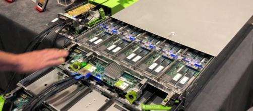 Módulo de almacenamiento NVMe Toshiba M.2.