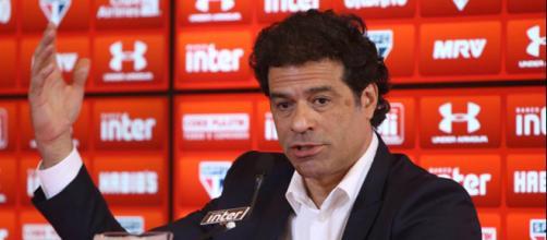 Raí, diretor executivo de futebol do São Paulo
