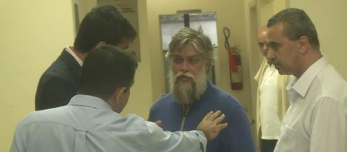 Fábio Assunção é preso após acidente de carro