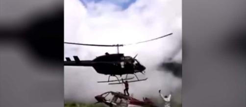 Rescatista es decapitado por la hélice de un helicóptero | INFO7 - info7.mx