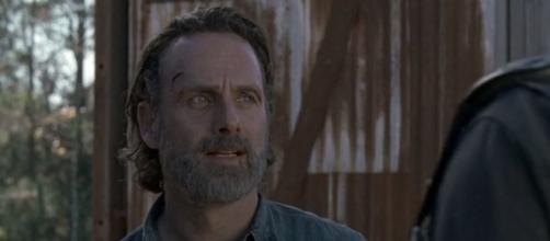 Rick Grimes is the main character of the show. [image source: amc channel - YouTube]