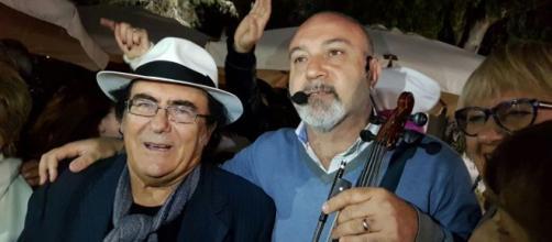 Albano Carrisi criticato da un noto giornalista - positanonews.it