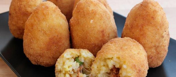 Arancini di riso o croquetas de arroz. Receta - recetasderechupete.com