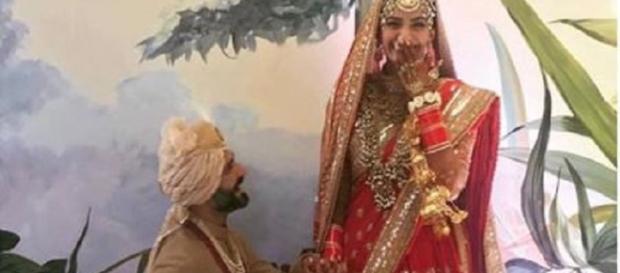 Bollywood celebs wish Sonam Kapoor & Anand Ahuja on Twitter (Image Credit: Katrina Kaif/Instagram)