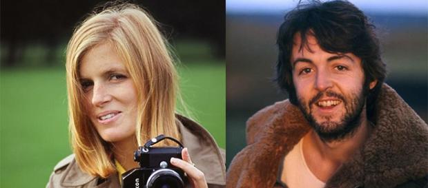 Linda e Paul McCartney nel 1970