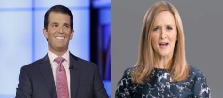 Donald Trump Jr, Samantha Bee, via Twitter