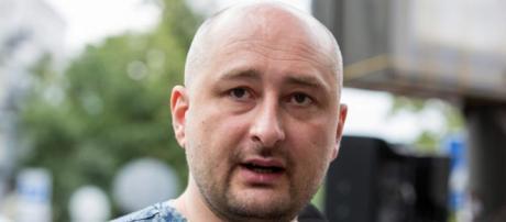 Il giornalista russo Arkady Babchenko