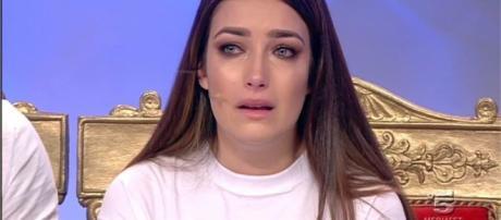 Nilufar Addati piange in puntata