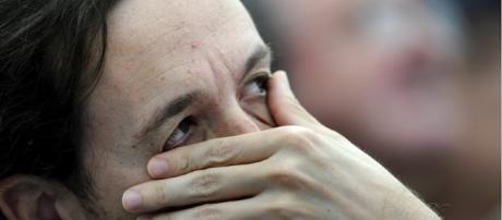Pablo Iglesias llora en el Congreso por culpa de Zoido