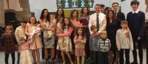 A enorme família Radford ganhará mais um membro em breve