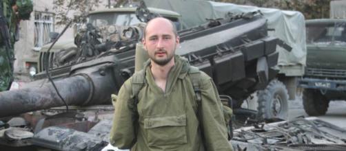 Arkadiy Babchenko - Wikipedia, Автор снимка неизвестен, владелец прав - Аркадий Бабченко