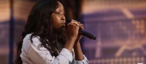 Flau'jae, a 14-year-old rapper, brought a needed and powerful message to the 'America's Got Talent' premiere. - [AGT / YouTube screencap]