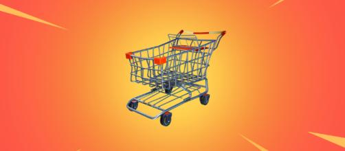 Fortnite: la nueva incorporación de un carrito de compras.