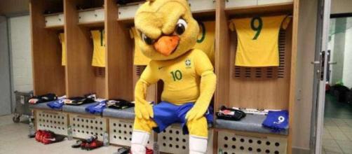 Mascote da seleção brasileira não poderá participar da festa da FIFA