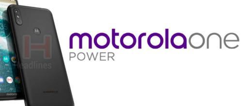 Motorola One Power, Motorola, Android One, Se dice que el teléfono tiene un diseño de muesca