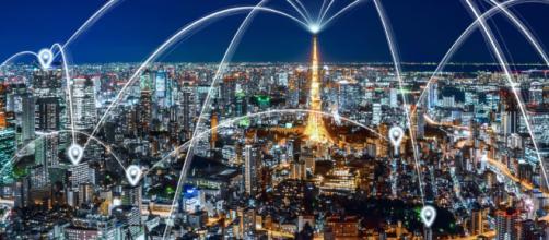 prima città strutturara su una blockchain in Giappone