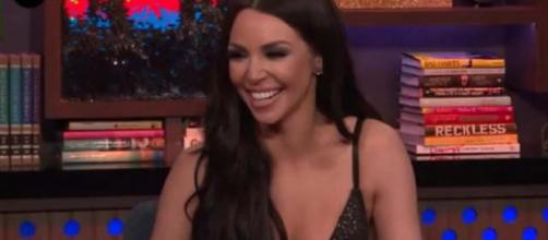 Scheana Marie is seen on 'Watch What Happens Live.' [Photo via Bravo TV/YouTube]