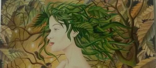 Una Fata dei Boschi dell'artista nuorese Serafino Sanna.