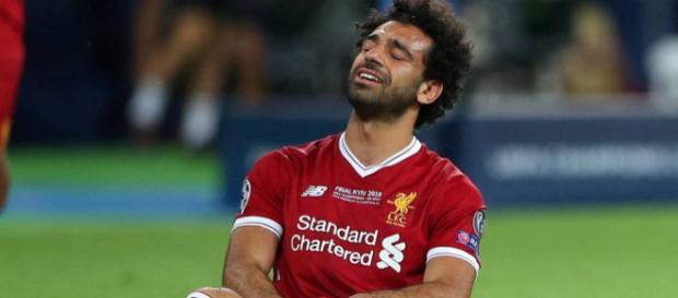 El alivio ha llegado a la cabeza de Mohamed Salah.