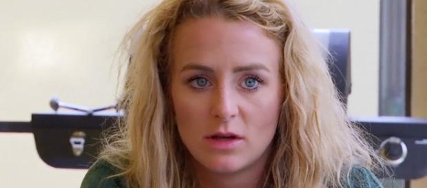 Leah Messer appears on 'Teen Mom 2.' [Photo via MTV/YouTube]