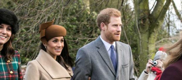 Meghan Markle and Prince Harry - Mark Jones   Flickr via Wikimedia Commons