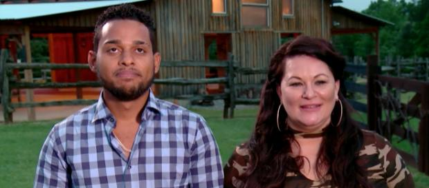 Molly Hopkins with husband Luis on '90 Day Fiance' / Photo via TLC, YouTube