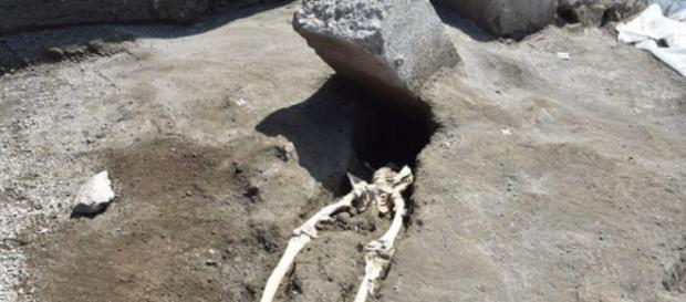 muchos residentes de Pompeya y en el tiempo quedaron congelados