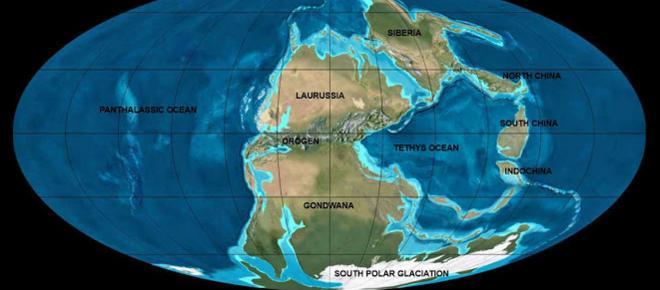 Novità nella deriva dei continenti: la Pangea si divise più lentamente