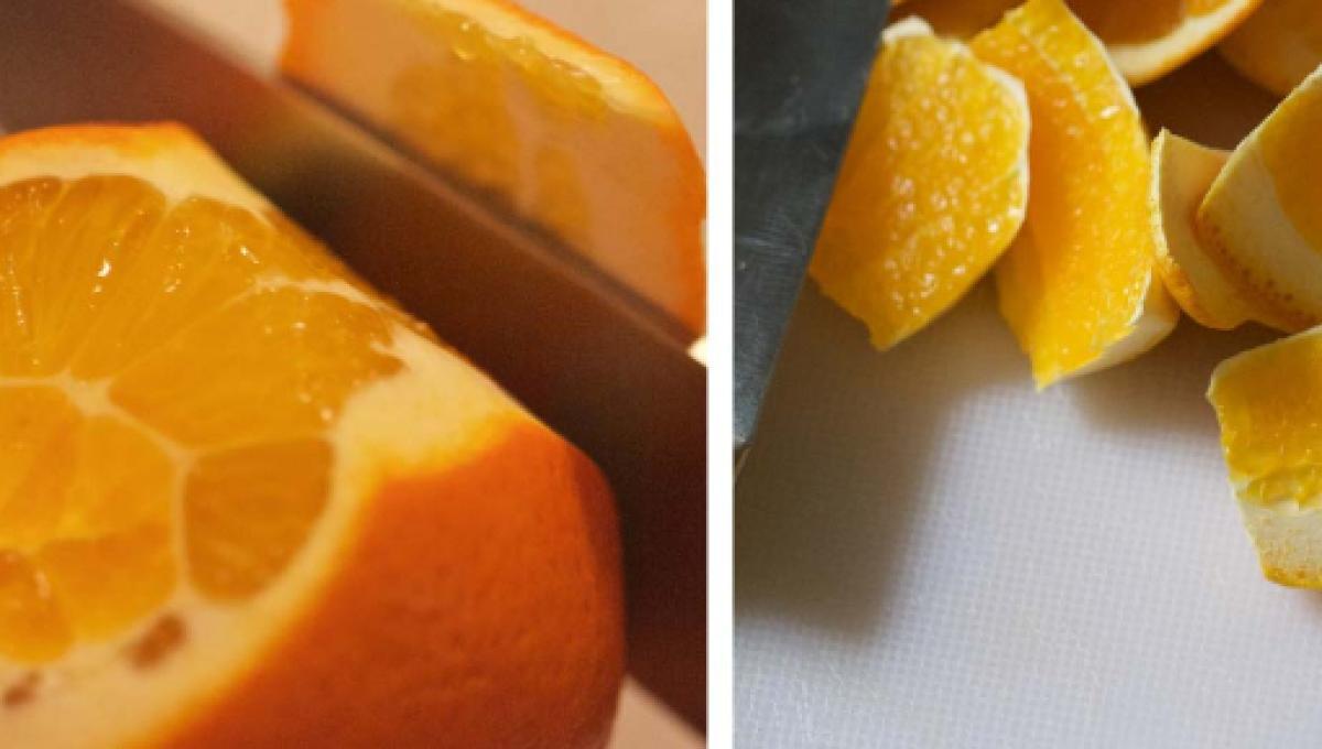 Comer cascara de naranja para adelgazar