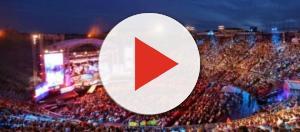 L'Arena di Verona durante i WMA