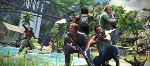 Al principio de Far Cry 3 el repertorio de armas está limitado a un pequeño pero útil arsenal que, no obstante, no ofrece demasiada iniciativa