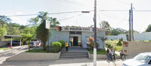 Caso de violência foi registrado na delegacia do Vale do Ribeira (Foto: Reprodução/Google)