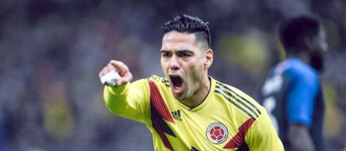 L'attaccante colombiano Falcao potrebbe interessare al Milan (Foto via Facebook - @GarciaZarateRadamelFalcao)