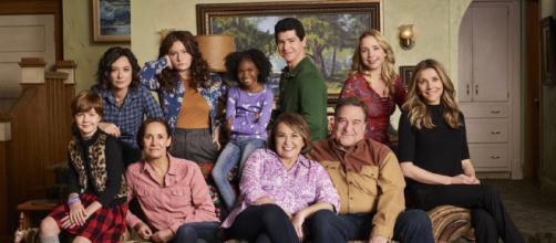 Los personajes de la serie 'Roseanne'.