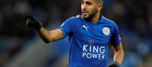 Riyad Mahrez podría llegar al Manchester City.