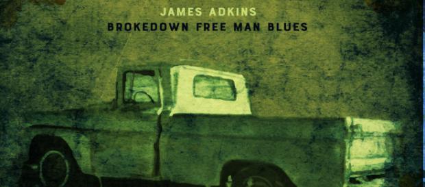 Brokedown Free Man Blues de James Adkins, Independiente, 2018.