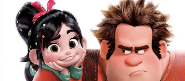 Disney personajes de la animación Ralph