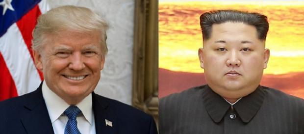 Donald Trump and Kim jong-un via Blue House (Republic of Korea) [Public domain or KOGL http://www.kogl.or.kr/open/info/license_info/by.do]