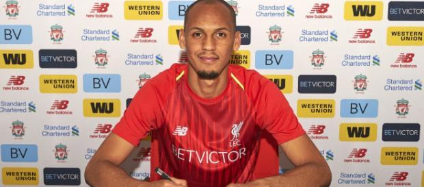 Fabinho é o novo reforço do Liverpool.