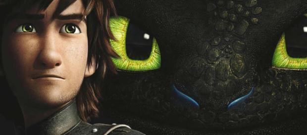 Primer vistazo al cartel de la nueva pelicula de 'How to Train your Dragon'