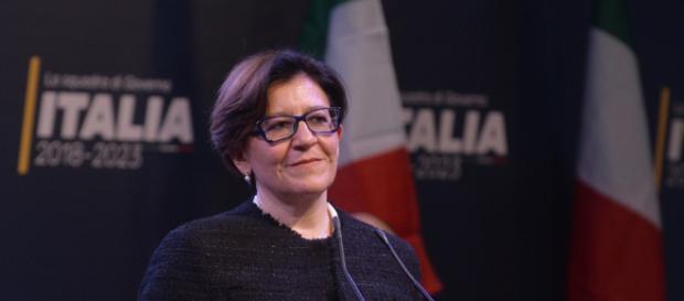 Ministro della Difesa Elisabetta Trenta