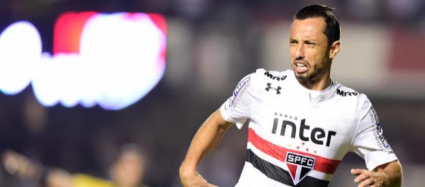 Nenê esbanjou categoria com dois golaços no primeiro tempo. (Foto: Fernando Dantas/Gazeta Press)