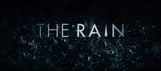 "Poster oficial de la serie danesa ""The Rain"""