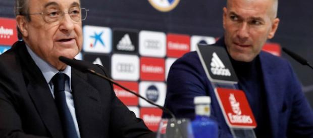 Zidane deja la casa blanca después de ganar la Champions
