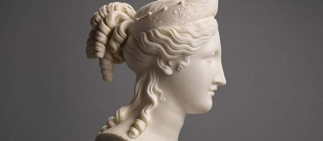Marble carving by 18th century sculptor Antonio Canova surfaces