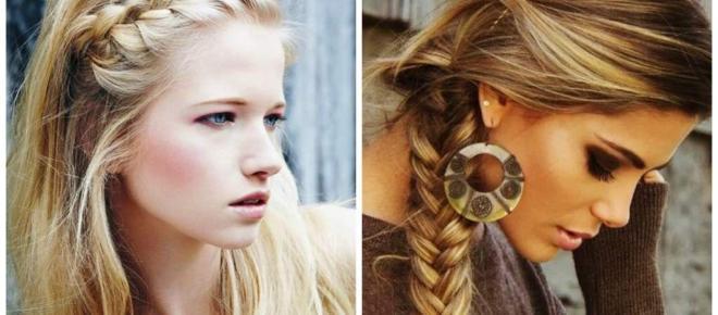 Los peinados con trenzados no pasan de moda